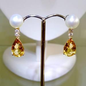 pearl-citrine-and-diamond-earrings